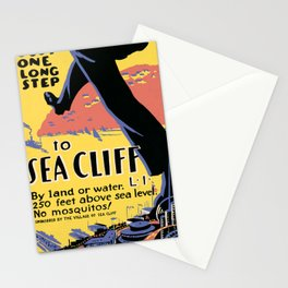 affisso Sea Cliff Stationery Cards