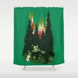 pow wow. Shower Curtain