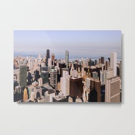 Sweet Home Chicago Metal Print