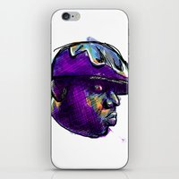 biggie smalls iPhone & iPod Skins featuring Biggie Smalls by William Benitez