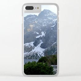 Morskie Oko - Tatry Mountains Clear iPhone Case