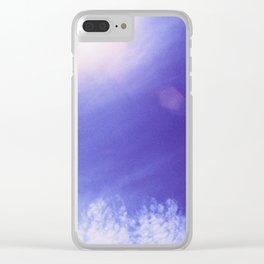 Blue Clear iPhone Case