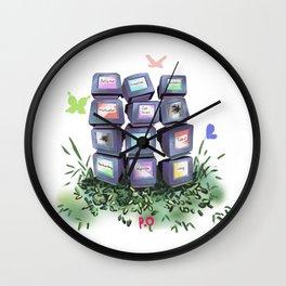 T r a s h e s Wall Clock