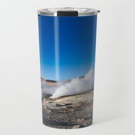Geysers in the Atacama Desert, Bolivia Travel Mug