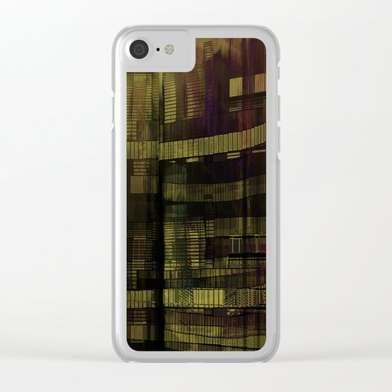 Decadence / 21-09-16 Clear iPhone Case