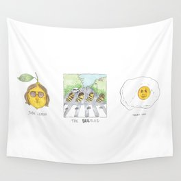 John Lemon the beetles yolko ono Wall Tapestry