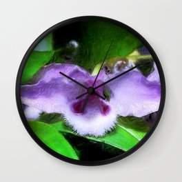 Dendrobium parisi Wall Clock