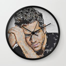 R. R. Outcast Wall Clock