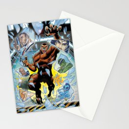 Monsters Among Us Stationery Cards