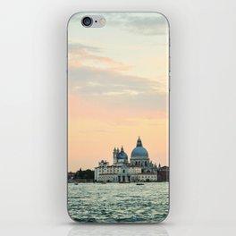 Venice sunset iPhone Skin