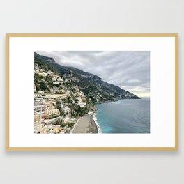 Positano, by the sea Framed Art Print