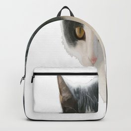 A Max And Mantle Bi Colour Cat Isolated Backpack