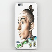 ahs iPhone & iPod Skins featuring Pepper -AHS by MELCHOMM