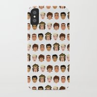 one direction iPhone & iPod Cases featuring One Direction by pygmy