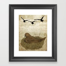 The Returning Children Framed Art Print