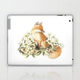 Springtime Fox Laptop & iPad Skin