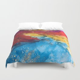 Boho bash Duvet Cover