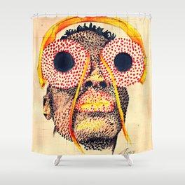 Housefly Shower Curtain