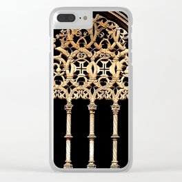 Gothic Arch Clear iPhone Case