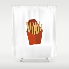 Fries Shower Curtain