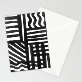 Ink Pattern Stationery Cards