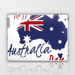 Happy Australia Day 2018 Laptop & iPad Skin