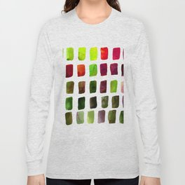 Brushstrokes 1za by Kathy Morton Stanion Long Sleeve T-shirt