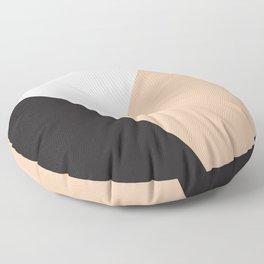 Getting Blocky Dark Floor Pillow
