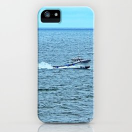 Sweet Deal Races into the Harbour iPhone Case