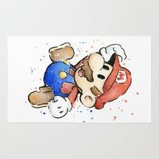 Mario Watercolor Rug