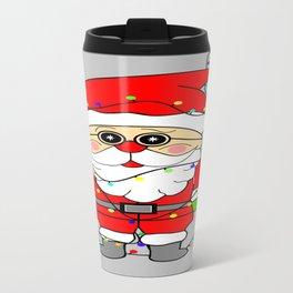 Silly Santa Travel Mug
