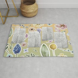 the message Rug