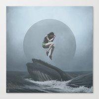 venus Canvas Prints featuring Venus by yurishwedoff