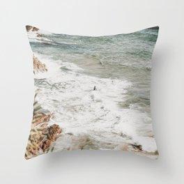 gold coast / australia Throw Pillow