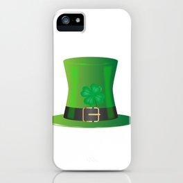 Irish Green Top Hat iPhone Case