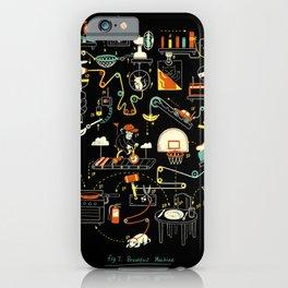 Breakfast Machine iPhone Case