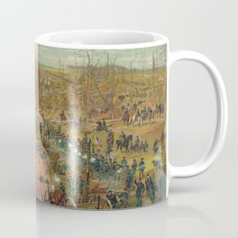 Civil War Battle of Shiloh April 6th 1862 by Cosack & Co. Coffee Mug