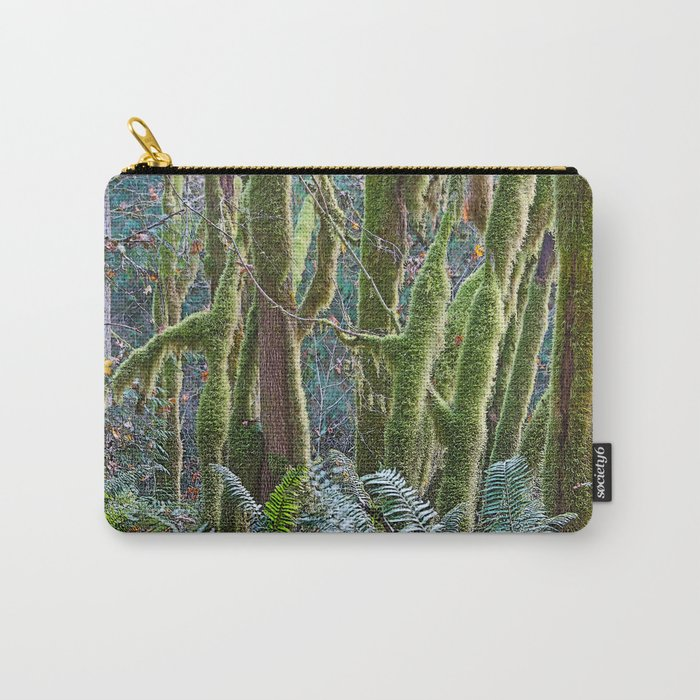 YOUNG RAINFOREST MAPLES Carry-All Pouch