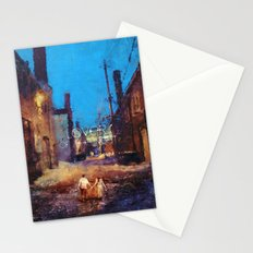 Lovers of the night Stationery Cards