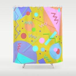 Memphis #43 Shower Curtain