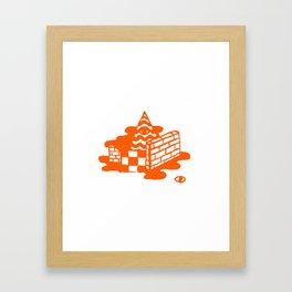 islandz Framed Art Print
