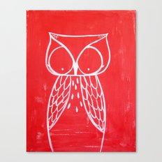 No. 008 - Modern Kids and Nursery Art - The Owl Canvas Print