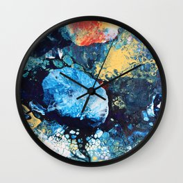One Moment In Life Wall Clock