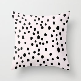 Dalmatian Spots Large Throw Pillow
