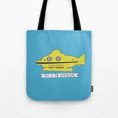 The Life Aquatic with Steve Zissou This is an Adventure Tote Bag