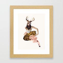 Femme Buck Framed Art Print