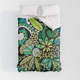 Tropical Illusion Comforters