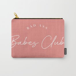 bad ass babes club Carry-All Pouch