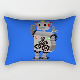 Robot  Rectangular Pillow