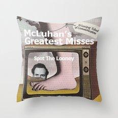 SPOT THE LOONEY Throw Pillow